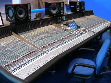 Mixing Console: It is here the Mix engineer mixes your song