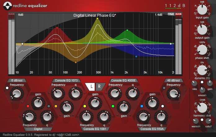 Audio Effects Eq Or Equalization